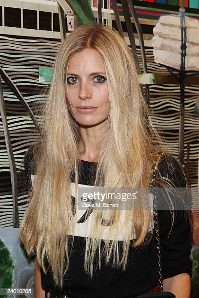 Laura Bailey attends the debut screening of a short film collaboration between Bella Freud and director Martina Amati at Max Wigram Gallery on...