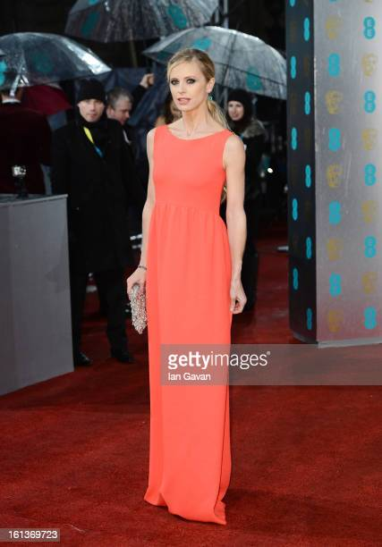 Laura Bailey attends the EE British Academy Film Awards at The Royal Opera House on February 10 2013 in London England