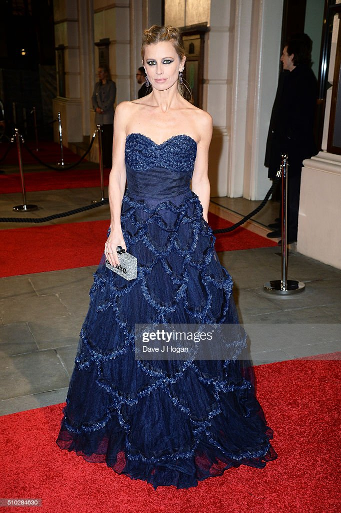 Laura Bailey attends the EE British Academy Film Awards at The Royal Opera House on February 14, 2016 in London, England.
