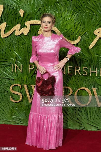 Laura Bailey attends the Fashion Awards 2017 In Partnership With Swarovski at Royal Albert Hall on December 4 2017 in London England