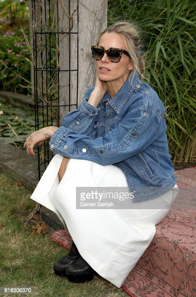 Laura Bailey attends the J Brand x Bella Freud garden tea party on July 18 2017 in London England