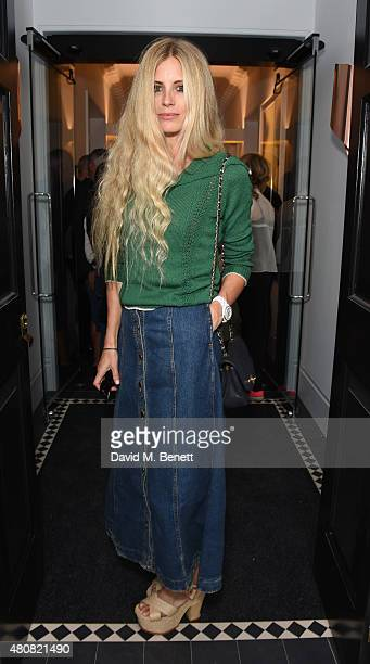 Laura Bailey attends The Laslett preopening drinks reception at The Laslett on July 15 2015 in London England