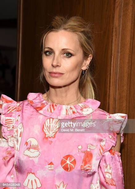 Laura Bailey attends the launch of issue 6 of the IngŽnue Magazine in partnership with Koko Kanu at Mortimer House on April 12 2018 in London England