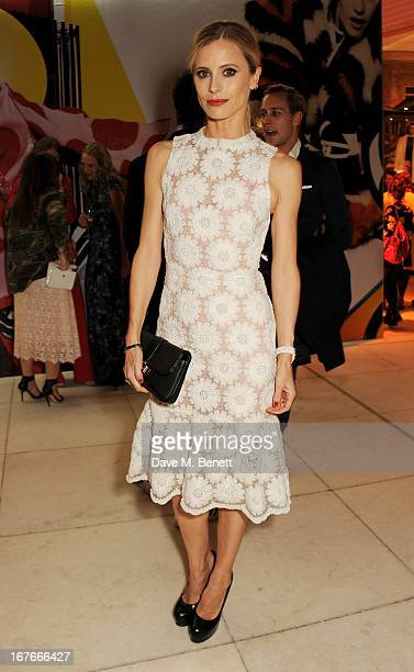 Laura Bailey attends the opening party for The Vogue Festival 2013 in association with Vertu at Southbank Centre on April 27 2013 in London England