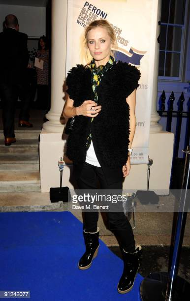 Laura Bailey attends the Peroni and Alessi Blue Ribbon Design Awards celebrating authentic Italian style and design at the ICA on September 29 2009...