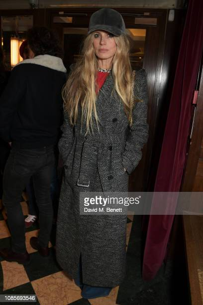 Laura Bailey attends the Platform Presents Poetry Gala 2019 after party at J Sheekey Atlantic Bar on January 20 2019 in London England