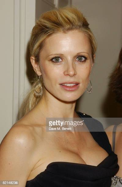 Laura Bailey attends the PreReception ahead of the annual Evening Standard Film Awards 2005 at The Savoy on February 6 2005 in London