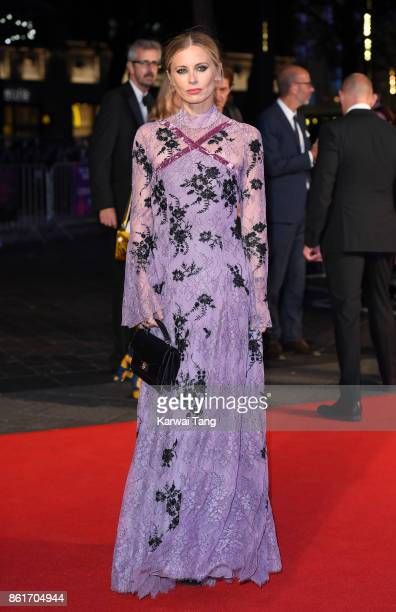 Laura Bailey attends the UK Premiere of 'Three Billboards Outside Ebbing Missouri' during the closing night gala of the 61st BFI London Film Festival...