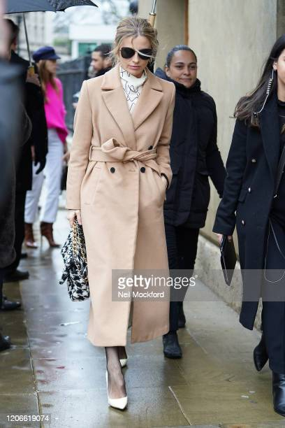 Laura Bailey attends Victoria Beckham at Banqueting House during LFW February 2020 on February 16 2020 in London England