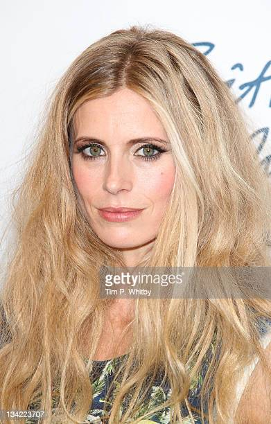 Laura Bailey in the press room at the British Fashion Awards 2011 at The Savoy Hotel on November 28 2011 in London England