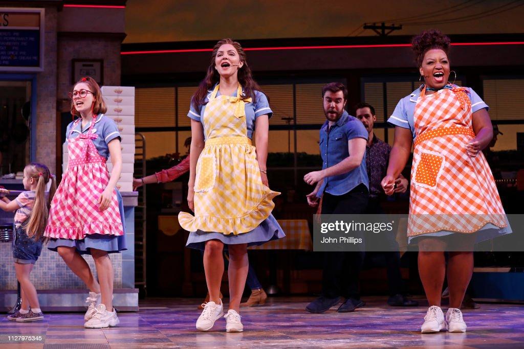 'Waitress' At The Adelphi Theatre - Photocall : News Photo