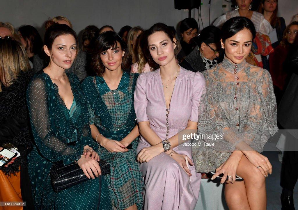 ITA: Luisa Beccaria - Front Row: Milan Fashion Week Autumn/Winter 2019/20