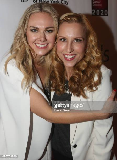 Laura Bell Bundy and Tiffany Engen pose at 'Double Standards' a concert benefiting womans rights heath and empowerment funding the ACLU National...