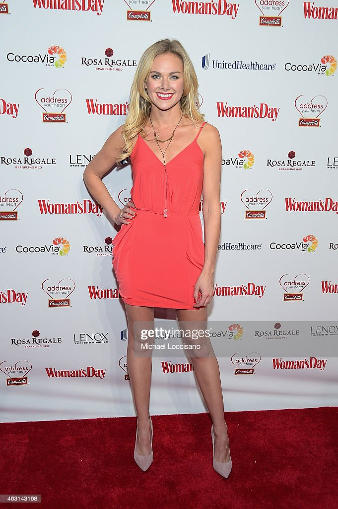 Woman's Day Red Dress Awards Red Carpet Benefitting Go Red For Women