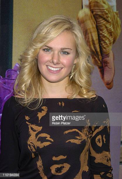 """Laura Bell Bundy during Final Broadway Performance of Harvey Fierstein and Kathy Brier in """"Hairspray"""" at The Neil Simon Theatre in New York City, New..."""
