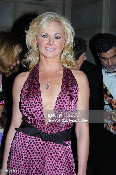 Laura Bell Bundy is at the opening night party for the Broadway musical Legally Blonde at Cipriani 42nd Street She stars in the play
