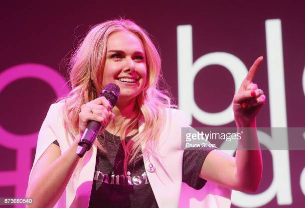Laura Bell Bundy performs in 'Double Standards' a concert benefitting womans rights heath and empowerment funding the ACLU National Breast Cancer...
