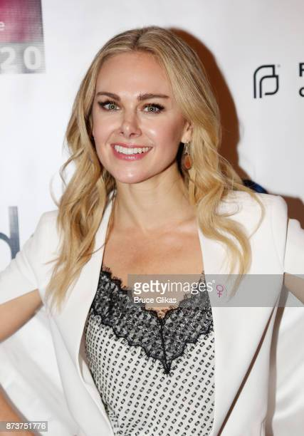 Laura Bell Bundy poses at 'Double Standards' a concert benefiting womans rights heath and empowerment funding the ACLU National Breast Cancer...