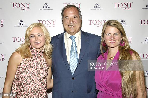 Laura Bell Bundy Stewart Lane producer/theatre owner and Bonnie Comley