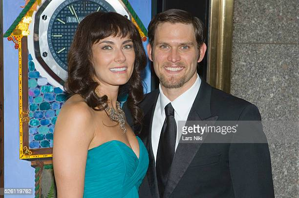 Laura Benanti and Steven Pasquale attend the '63rd Annual Tony Awards' at Radio City Music Hall in New York City