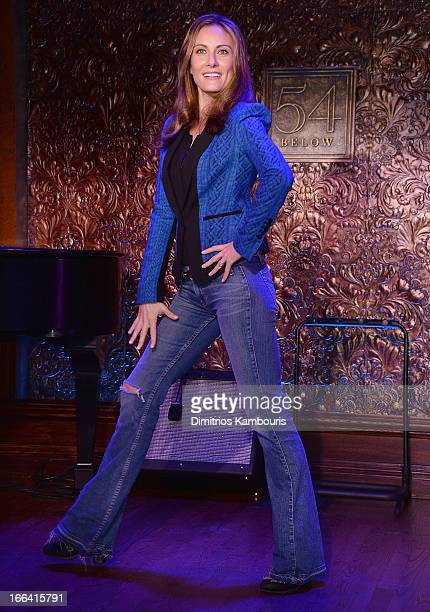 Laura Benanti attends the 54 Press Preview at 54 Below on April 12 2013 in New York City