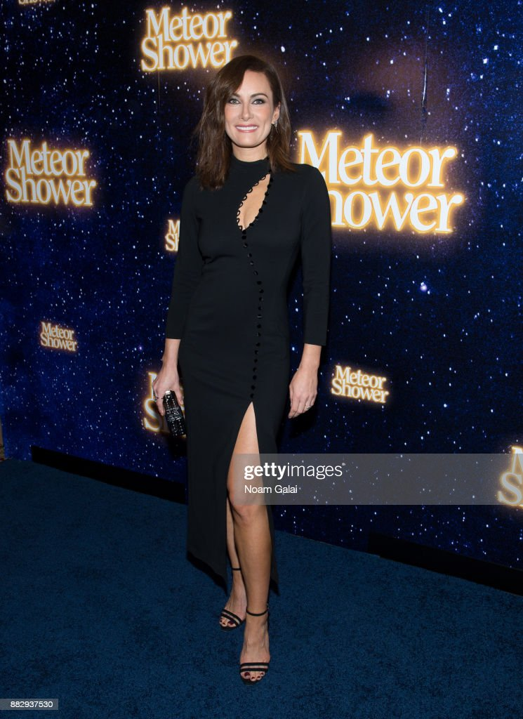 Laura Benanti attends the 'Meteor Shower' opening night on Broadway on November 29, 2017 in New York City.