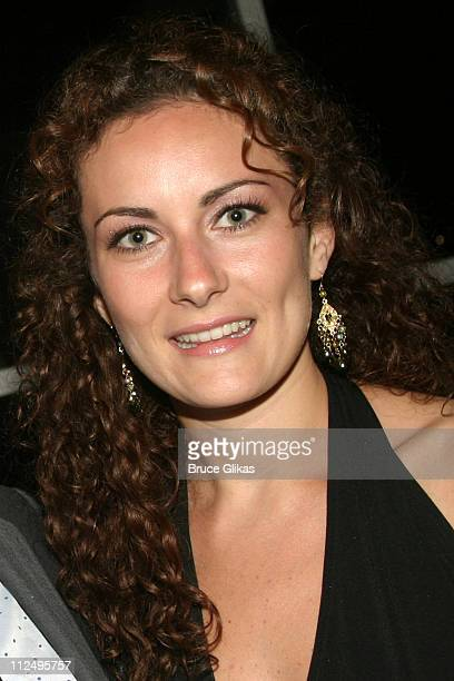 Laura Benanti during Roundabout Theatre Company's 2005 Spring Gala Celebration at Pier 60 at Chelsea Piers in New York NY United States