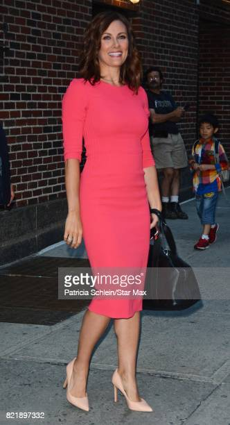 Laura Benanti is seen on July 24 2017 in New York City