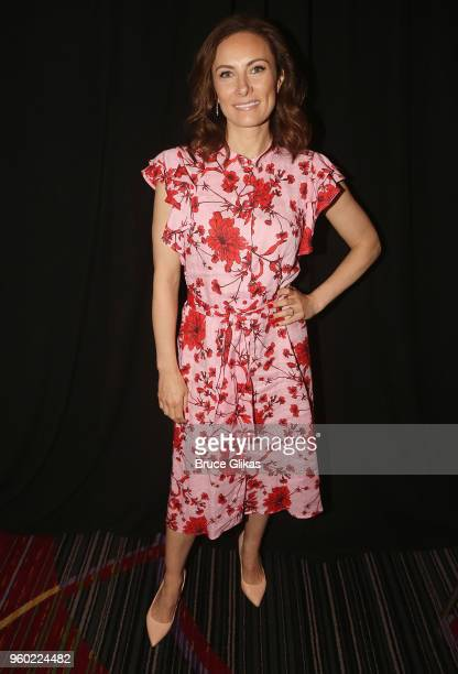 Laura Benanti poses at The 2018 Drama League Awards at The Marriott Marquis Times Square on May 18 2018 in New York City