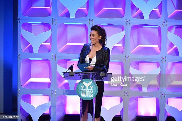 Laura Benanti speaks onstage during The 7th Annual Shorty Awards on April 20 2015 in New York City
