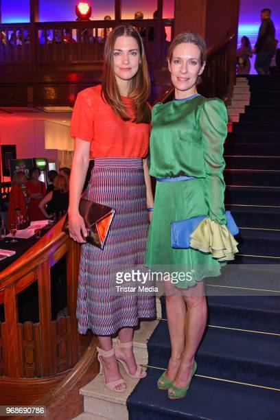 Laura Berlin and Lisa Martinek attend the Studio Hamburg Nachwuchspreis on June 6 2018 in Hamburg Germany