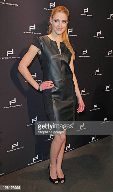 Laura Berlin attend the opening of Porsche Design Store in Muenzstrasse 14 on November 15 2012 in Berlin Germany