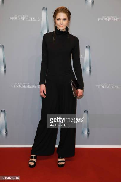 Laura Berlin attends the German Television Award at Palladium on January 26 2018 in Cologne Germany