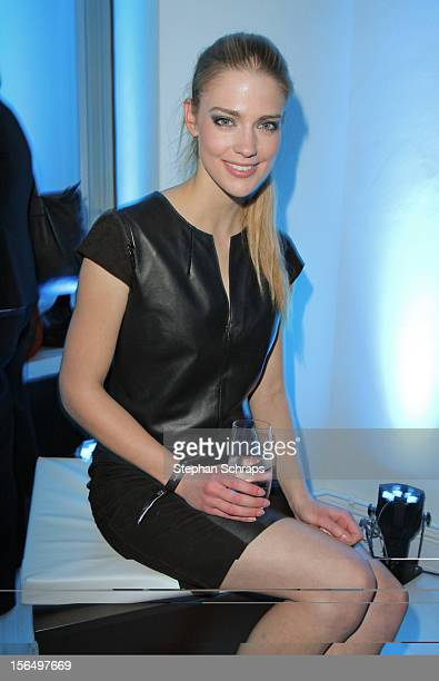 Laura Berlin attends the opening of Porsche Design Store in Muenzstrasse 14 on November 15 2012 in Berlin Germany