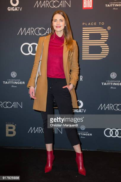 Laura Berlin attends the PLACE TO B PreBerlinaleDinner Photo Call at Provocateur on February 13 2018 in Berlin Germany