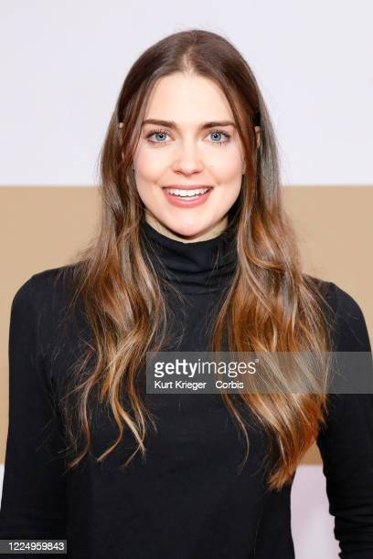 Laura Berlin attends the world premiere of 'Immenhof - Das Abenteuer eines Sommers' at Mathaeser Filmpalast on January 13, 2019 in Munich, Germany.