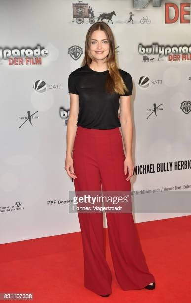 Laura Berlin during 'Bullyparade Der Film' premiere at Mathaeser Filmpalast on August 13 2017 in Munich Germany