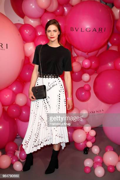 Laura Berlin during the Bulgari Omnia Pink Sapphire party on May 4, 2018 in Berlin, Germany.