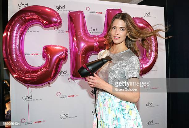 Laura Berlin during the ghd and DKMS Life Pink Charity Lunch on June 8 2016 in Munich Germany