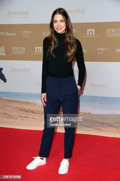 Laura Berlin during the premiere of the film 'Immenhof Das Abenteuer eines Sommers' at Mathaeser Filmpalast on January 13 2019 in Munich Germany