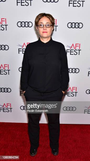 Laura Bispuri attends the screening of Under The Silver Lake during AFI FEST 2018 presented by Audi at the Egyptian Theatre on November 12 2018 in...