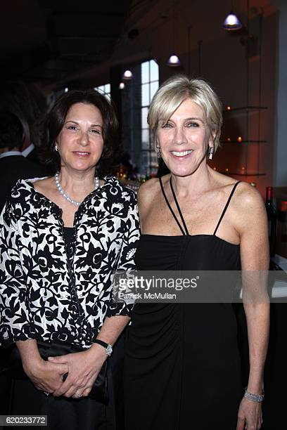 Laura Blankfein and Iris Marden attend THE DRAWING CENTER 2008 GALA at The Drawing Center and Tribeca Rooftop on April 21 2008 in New York City