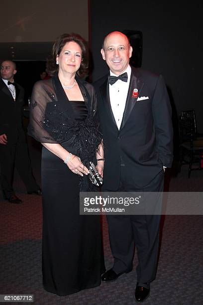 Laura Blankfein and Lloyd Blankfein attend TIME MAGAZINE'S 100 MOST INFLUENTIAL PEOPLE IN THE WORLD at Jazz @ Lincoln Center on May 8 2008 in New...