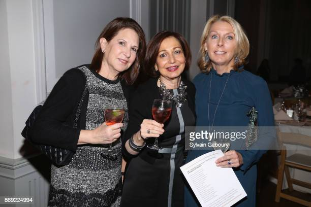 Laura Blankfein, Marcy Grau and Jill Marino attend ABC's Fifteenth Annual Thanks for Giving Benefit on November 1, 2017 in New York City.