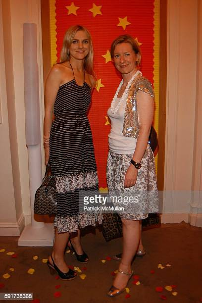 Laura Brown and Sarah Bailey attend Madonna Childrens Book Lotsa de Casha published by Callaway Arts and Entertainment at Bergdorf Goodman on June 7...