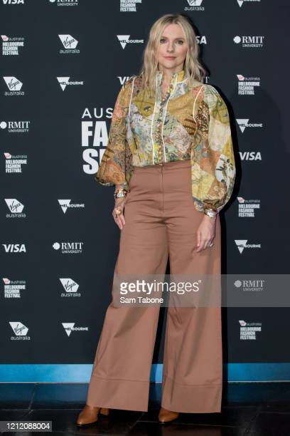 Laura Brown attends the Australian Fashion Summit during Melbourne Fashion Festival on March 13 2020 in Melbourne Australia
