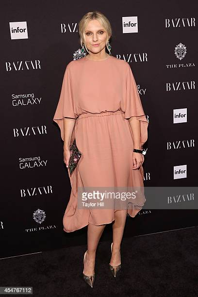 Laura Brown attends the Harper's Bazaar ICONS Celebration at The Plaza Hotel on September 5 2014 in New York City