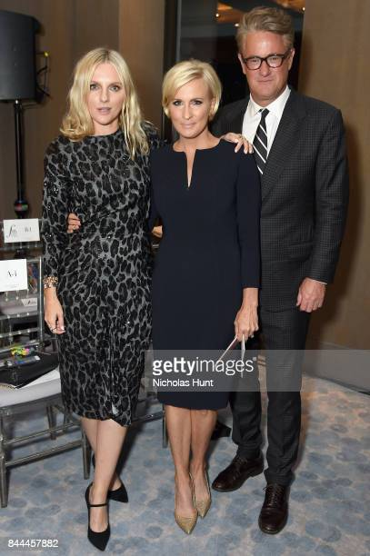Laura Brown Mika Brzezinski and Joe Scarborough attend the Daily Front Row's Fashion Media Awards at Four Seasons Hotel New York Downtown on...