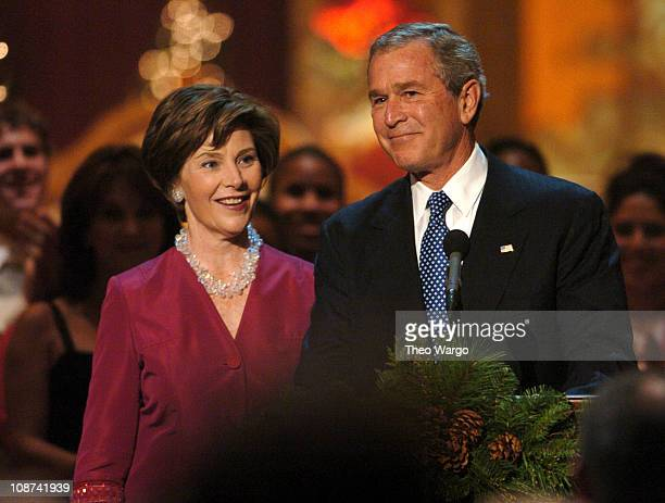 Laura Bush and President George W Bush TW 10475_012345_0207JPG