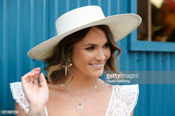Laura Byrne arrives at the Melbourne Cup CarnivalPHOTOGRAPH BY Chris Putnam / Barcroft Images 44 207 033 1031 Ehello@barcroftmediacom New YorkT1 212...